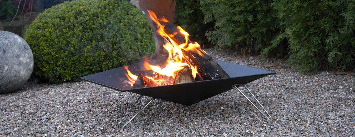 Design-Feuerstelle