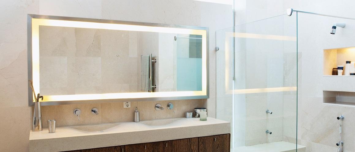 Infrarotheizung-Spiegel-VASNER-Zipris-LED-Beleuchtung-Infrarot-Heizung-Badezimmer