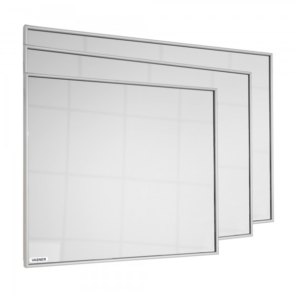 Mirror heater with frame Made in Germany