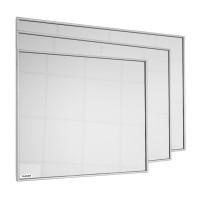 VASNER Zipris S Infrared Mirror Heater with Frame