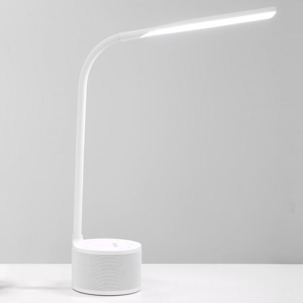 VASNER Lumbeat Nachttischlampe Weiß