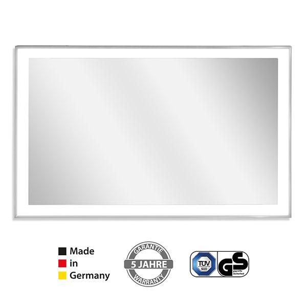 Spiegel Infrarotheizung mit Licht und Rahmen kaufen