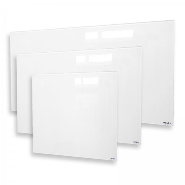 Glass panel heater flat, white VASNER Citara G
