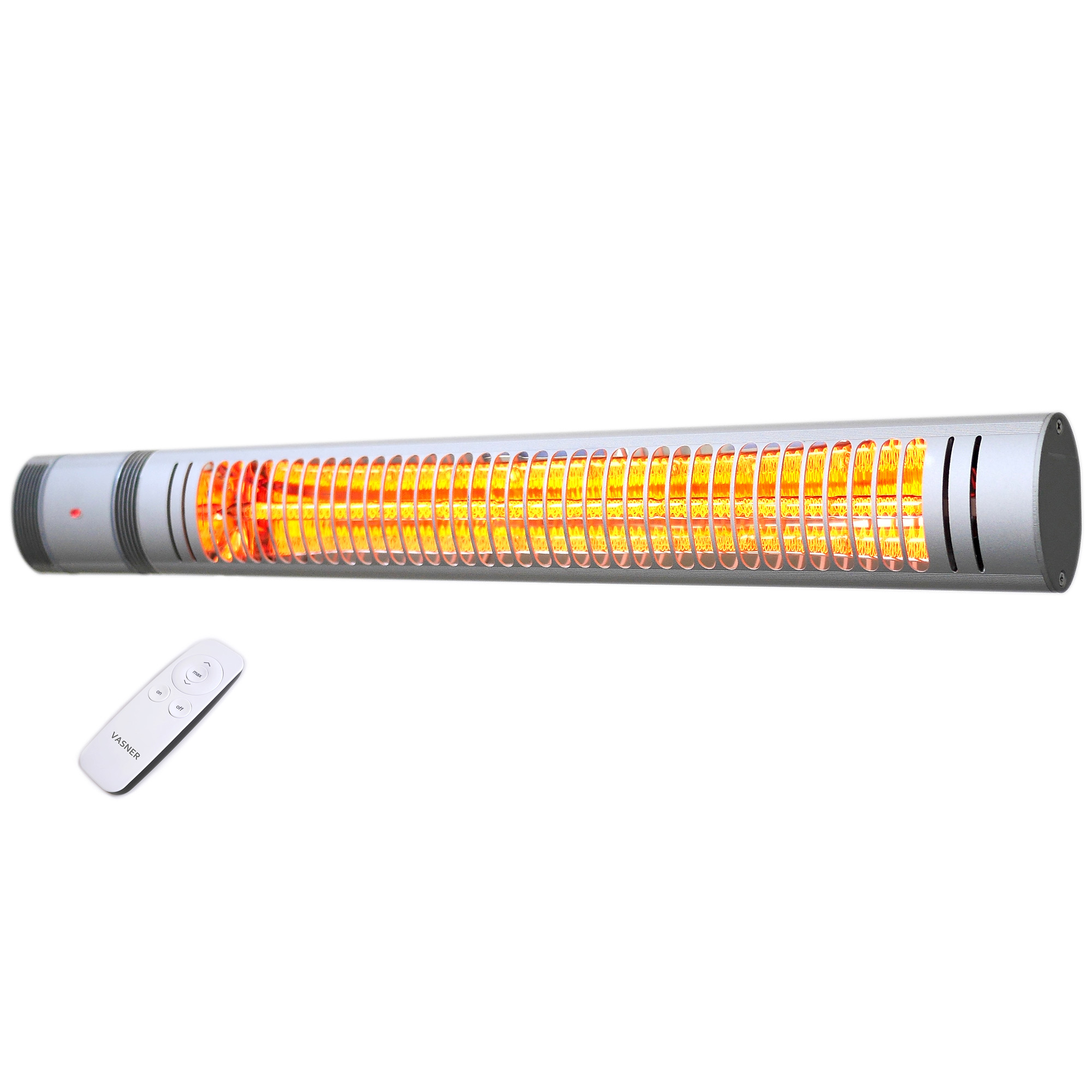 Electric-patio-heater-sleek-design