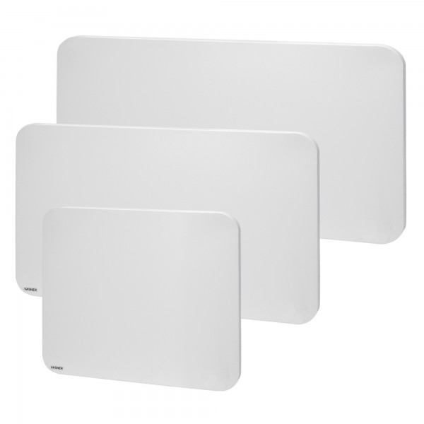 Infrared heating panel with rounded corners made of metal VASNER Citara M Plus
