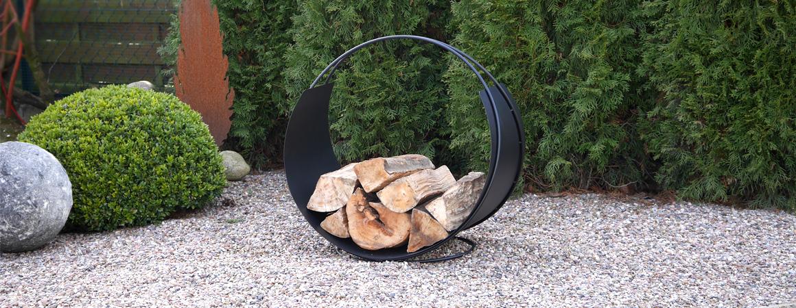 Feuerstelle-Holz