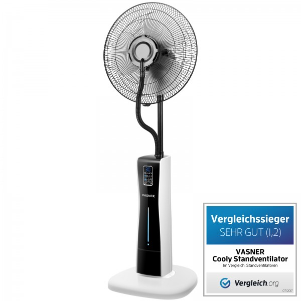 Water Spray Fan Cooly Wins Competetive Testing