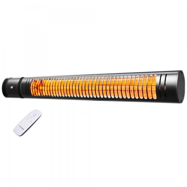 SlimLine X20 electric patio heater with remote control