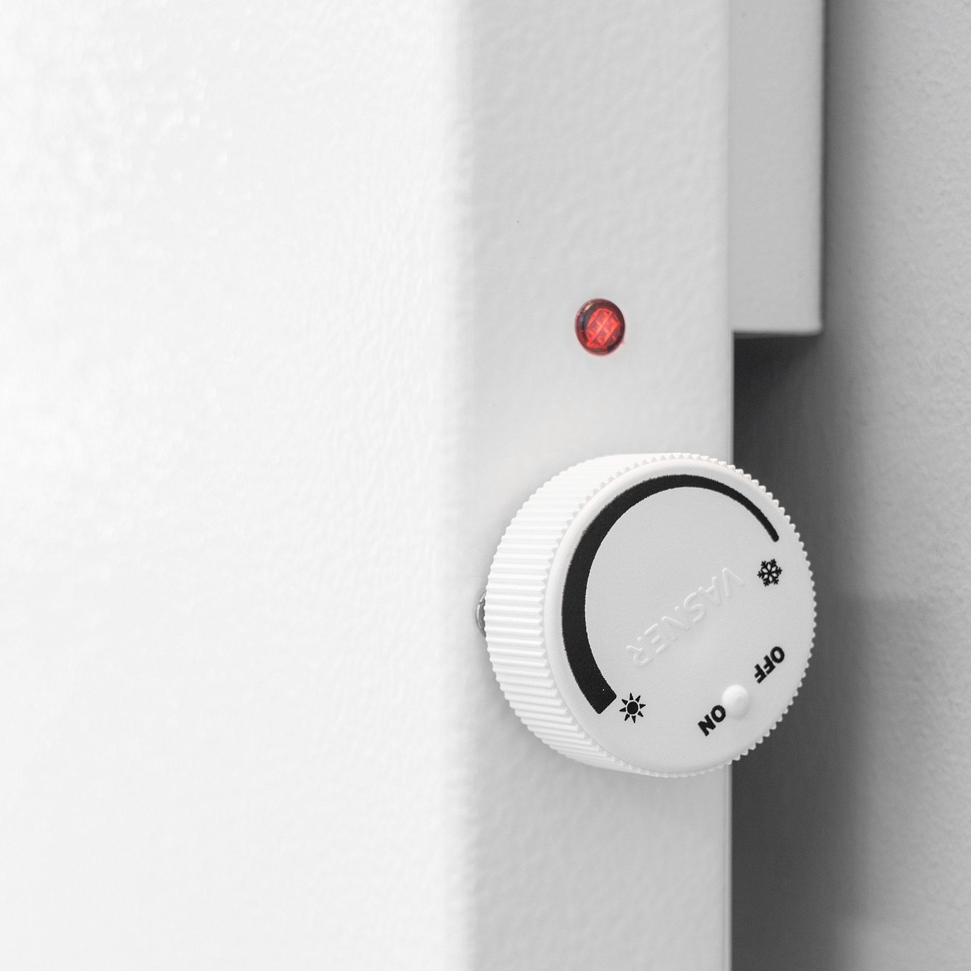 Hybrid Infrarotheizung mit Thermostat Drehknopf