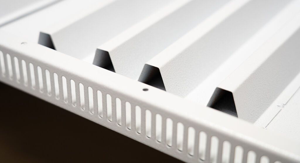 VASNER Infrarotheizung Hybrid mit Konvektoren für Warmluft