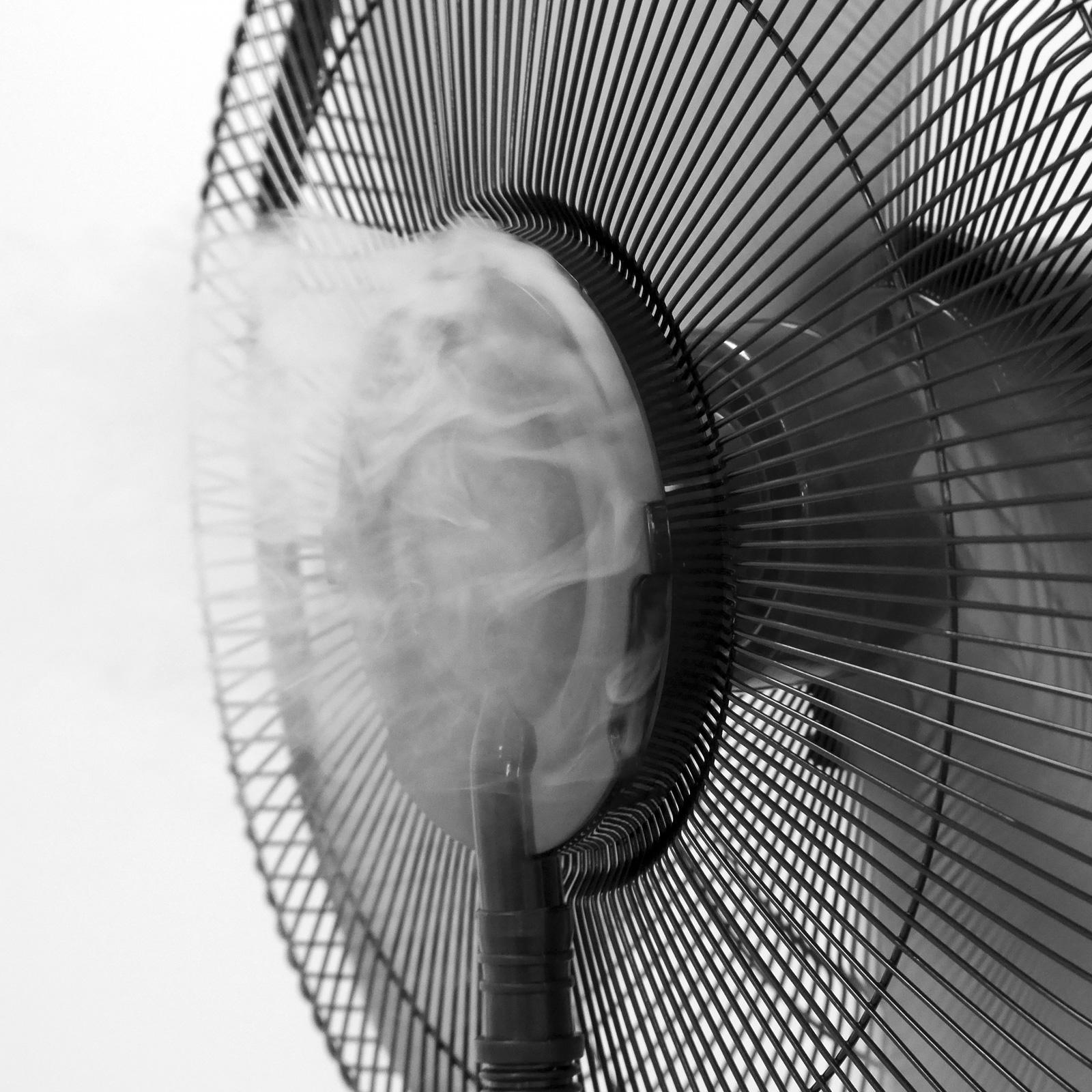 Ventilator mit Wasser & Ultraschall Nebel