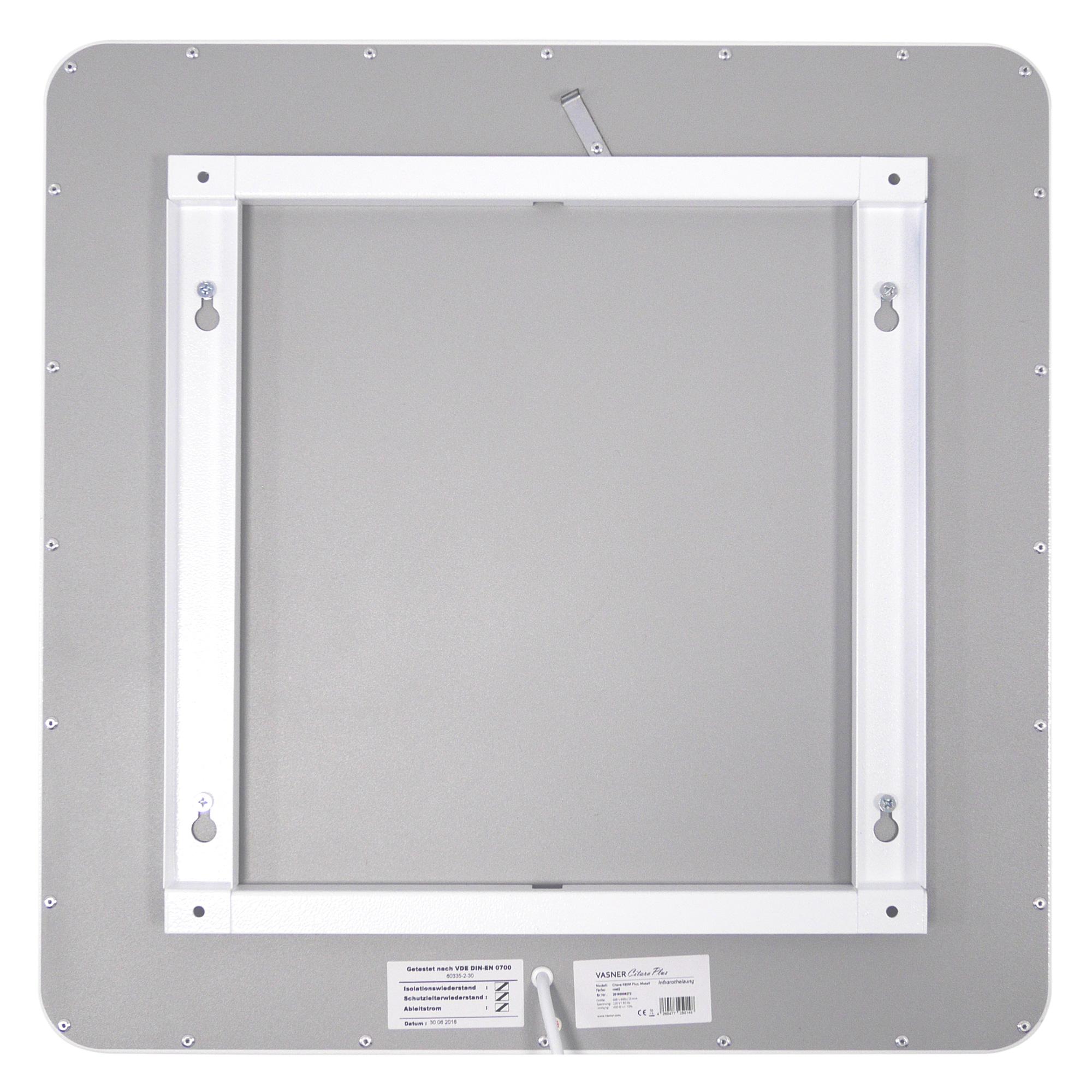 VASNER Decken- / Wandhalterung für die Citara M Infrarot Metall Stromheizung
