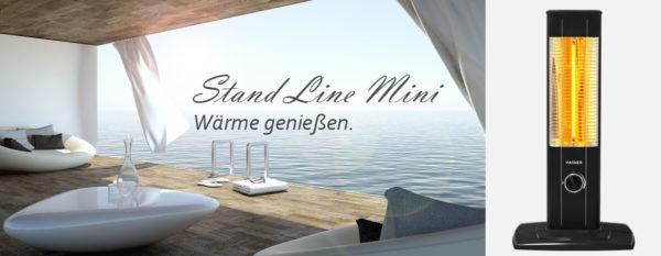 VASNER StandLine Mini 12 Infrarot Standheizstrahler Wärme genießen
