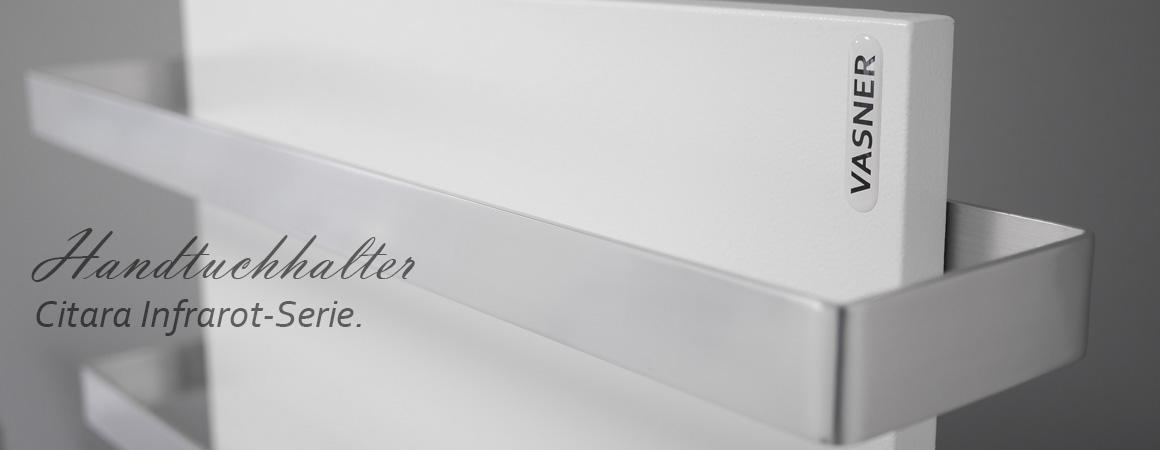 Die VASNER Infrarot Handtuchtrockner aus Aluminium