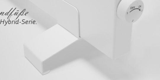 VASNER Standfüße Konvi Hybrid-Infrarotheizung