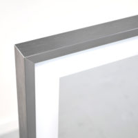 Spiegelheizung Infrarot mit Chrom Rahmen VASNER Zipris S LED