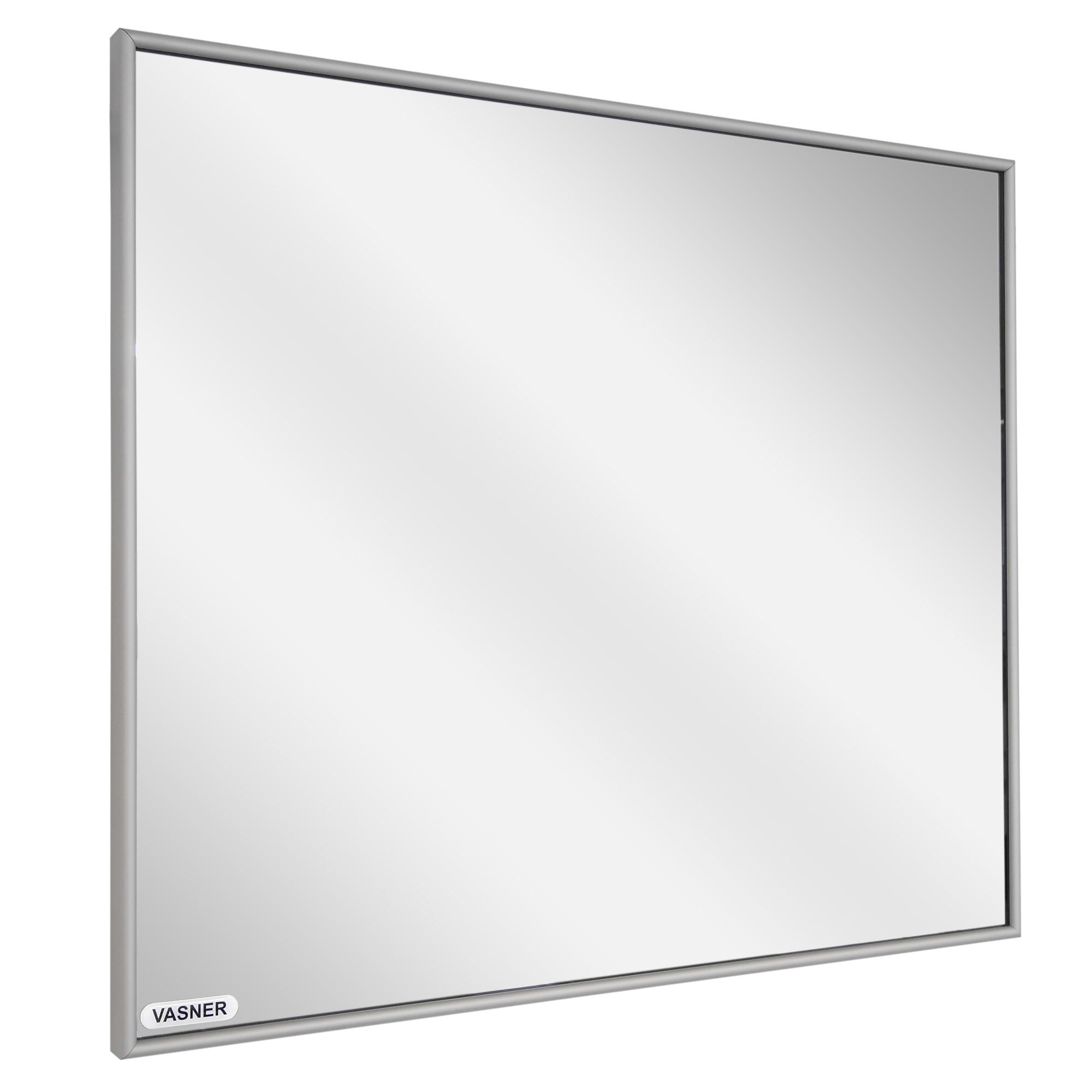 Infrarotheizung Spiegel mit Aluminium Rahmen