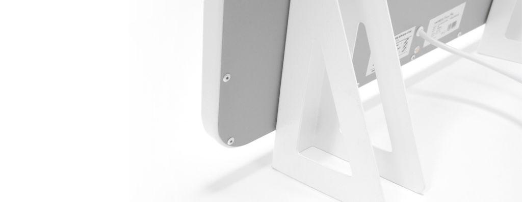 Infrarotheizung Bad - Standfüße für eine mobile Wärmequelle