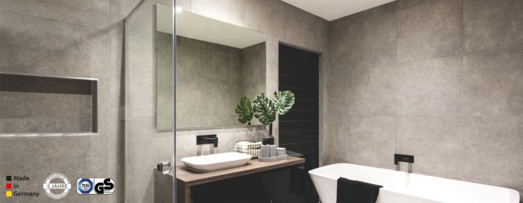 Infrarotheizung Bad - Spiegelheizungen an der Wand als getarnte Wärmequelle