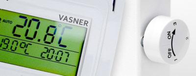 VASNER Infrarotheizung mit Thermostat