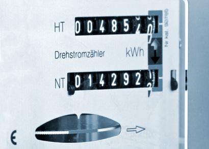 Stromzähler um Nachtspeicherheizung Kosten zu ermitteln