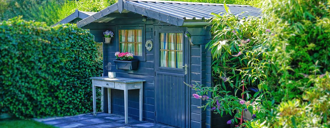 Für eine gemütliche Temperatur Ihr Gartenhaus heizen mit Infrarotwärme