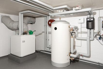 Die Wärmepumpe nutzt als Elektroheizung die Umgebungswärme zum Heizen mit Strom