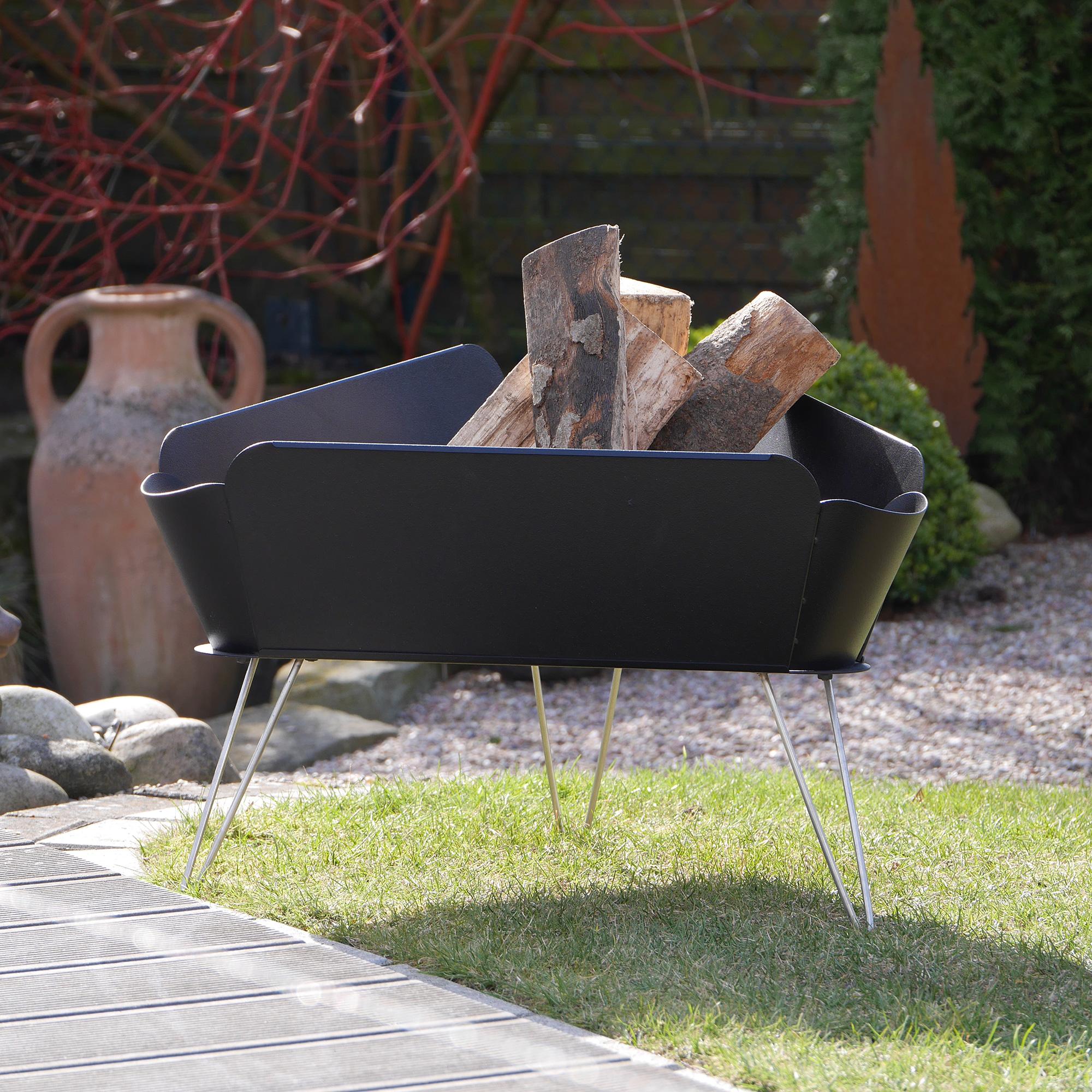 Vasner Merive M1 Feuerschale Design Fur Intensive Warme