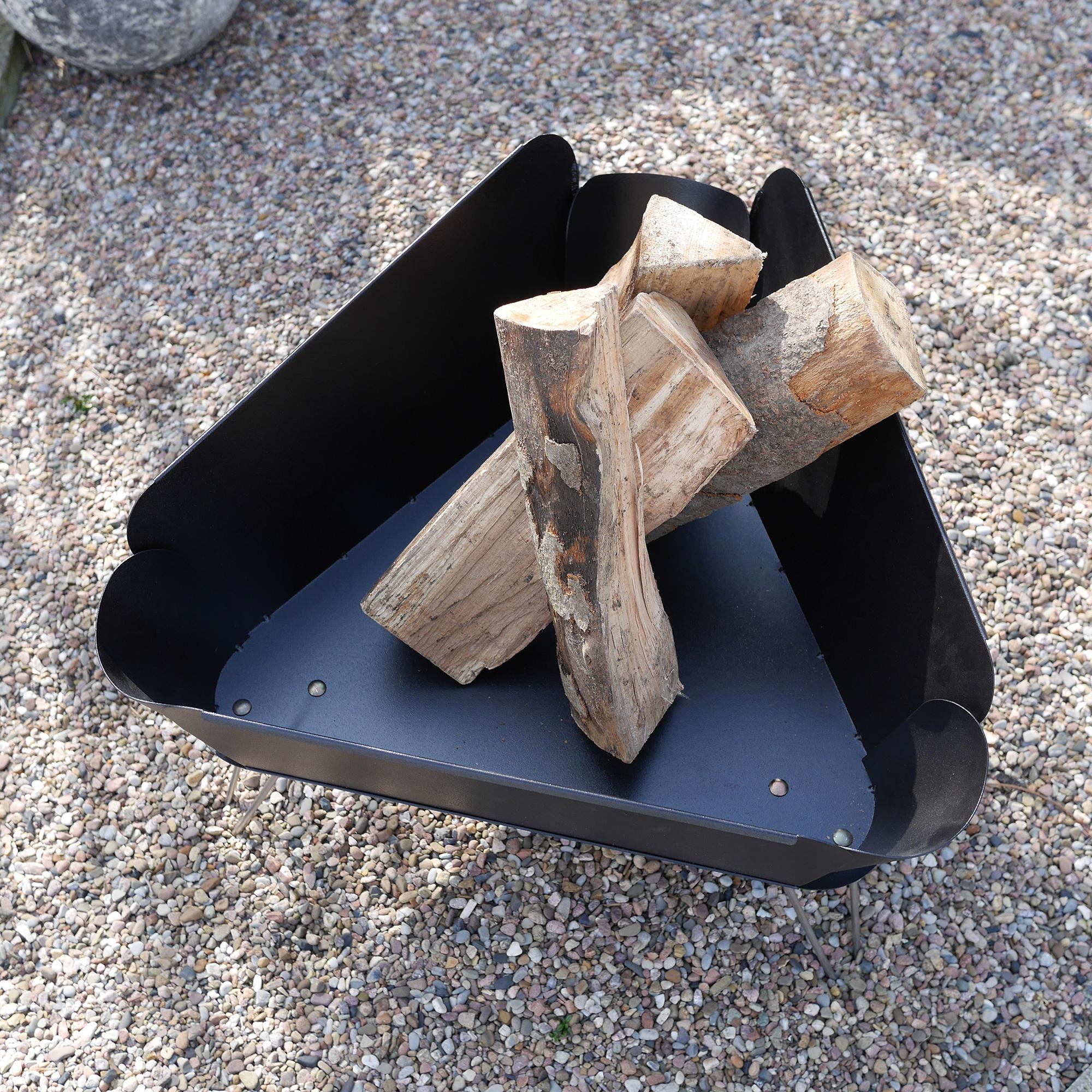 vasner merive m1 feuerschale design f r intensive w rme. Black Bedroom Furniture Sets. Home Design Ideas