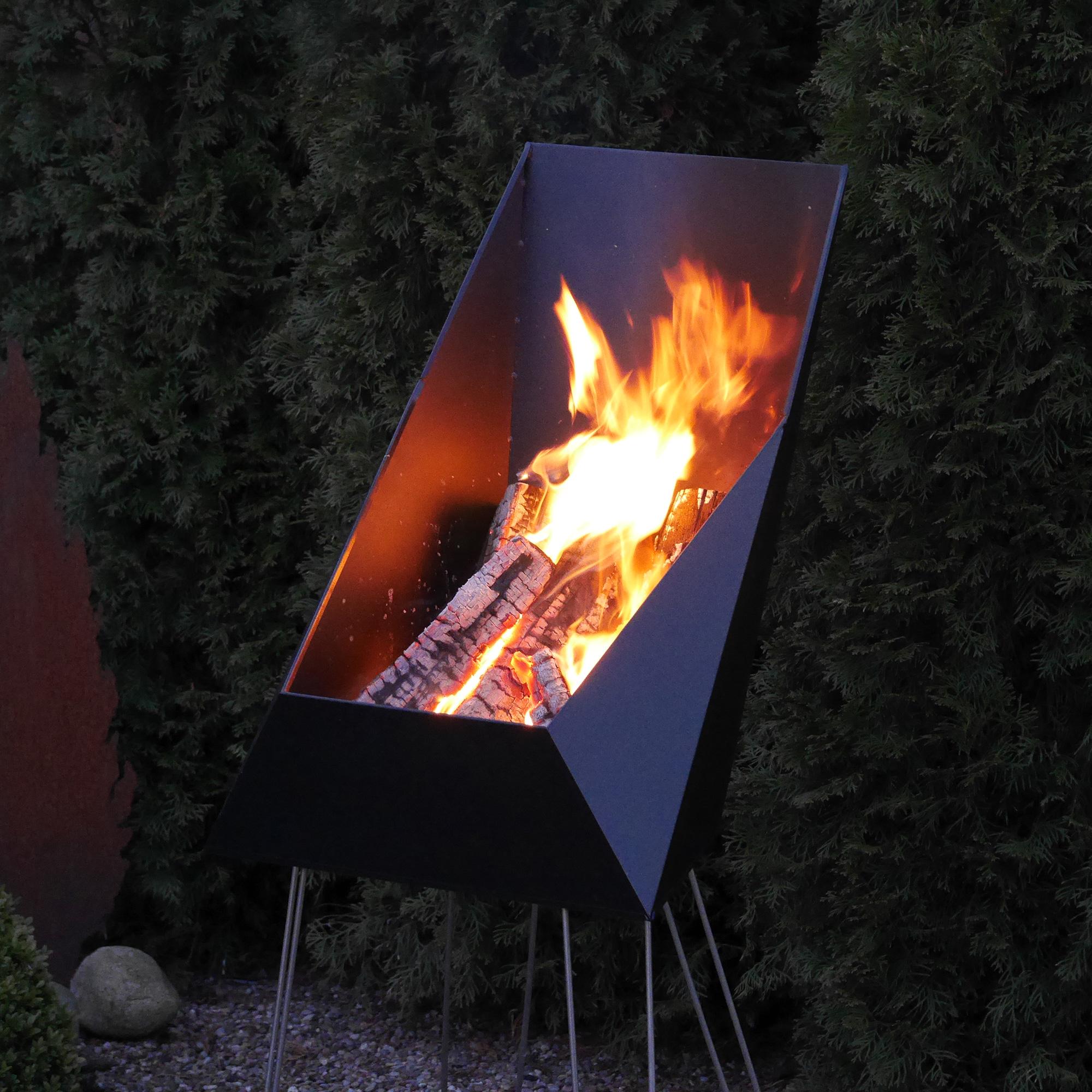 vasner merive m4 feuerkorb f r gezielte w rme. Black Bedroom Furniture Sets. Home Design Ideas