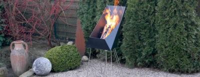 Der durchdachte Feuerkorb von VASNER