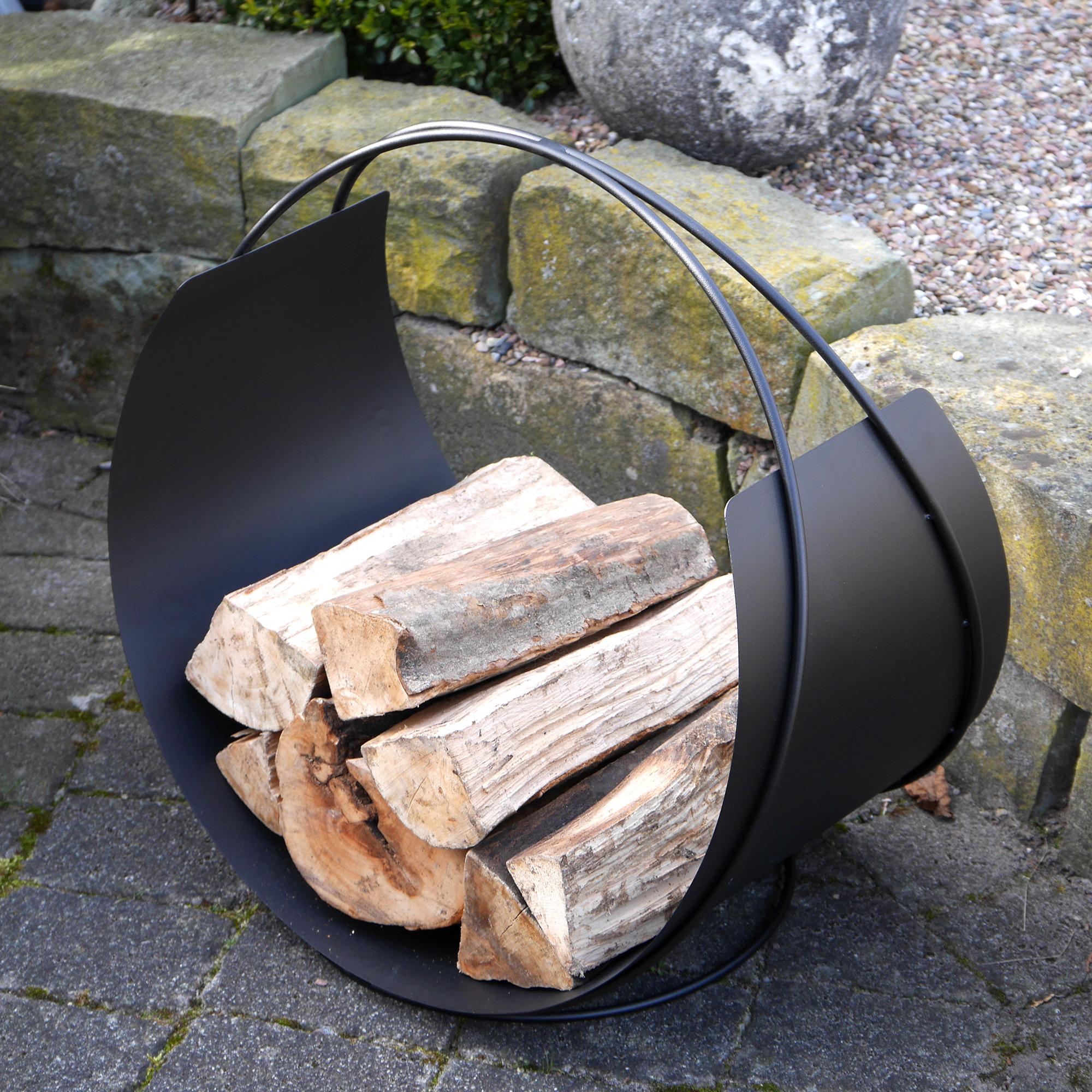 vasner situro s1 holzkorb f r kamine lagerfeuer. Black Bedroom Furniture Sets. Home Design Ideas