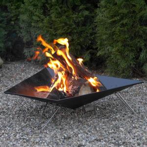 Die offenen Feuerstellen für den Garten