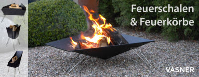 VASNER Merive Feuerstellen für den Garten