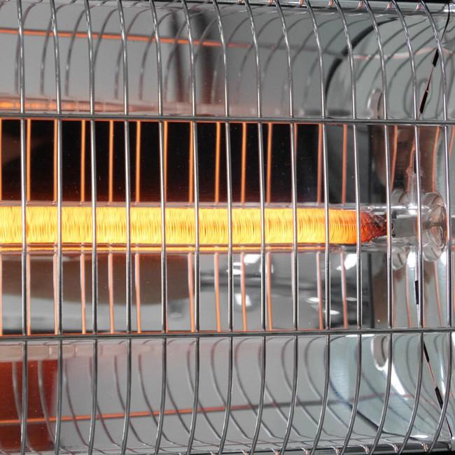 Carbon Röhre im Heizstrahler innen