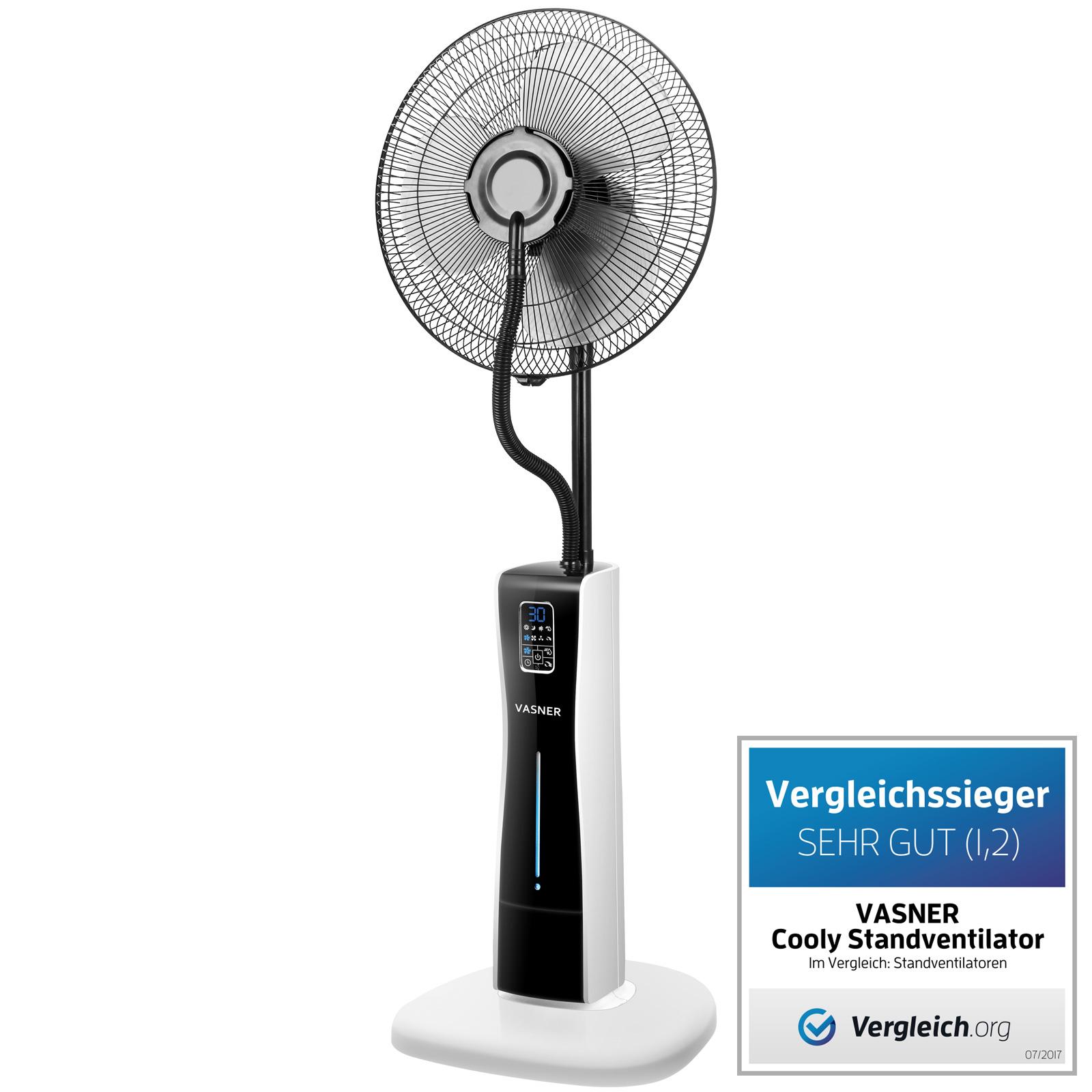 """""""Cooly"""" Ventilator mit Sprühnebel der Marke VASNER"""