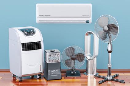 Was kann ein Ventilator, das eine Klimaanlage nicht kann?