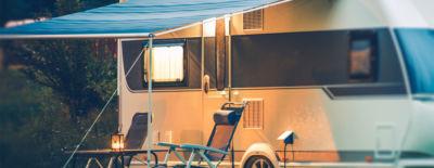 Infrarotheizstrahler von VASNER im Wohnmobil verwenden