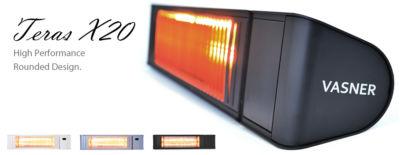 VASNER Teras X20 Outdoor Infrared Heater with 2000 watts