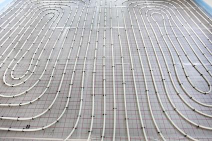 Die Fußbodenheizung als Flächendeckende Hallenheizung