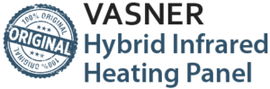 VASNER Original Hybrid Infrared Heater with Thermostat