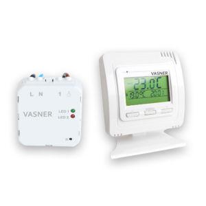 Unterputz Thermostat für eine dezente Steuerung von Infrarotheizungen