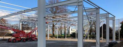 Infrarotheizung Deutschland - VASNER baut neue Produktionshalle in NRW