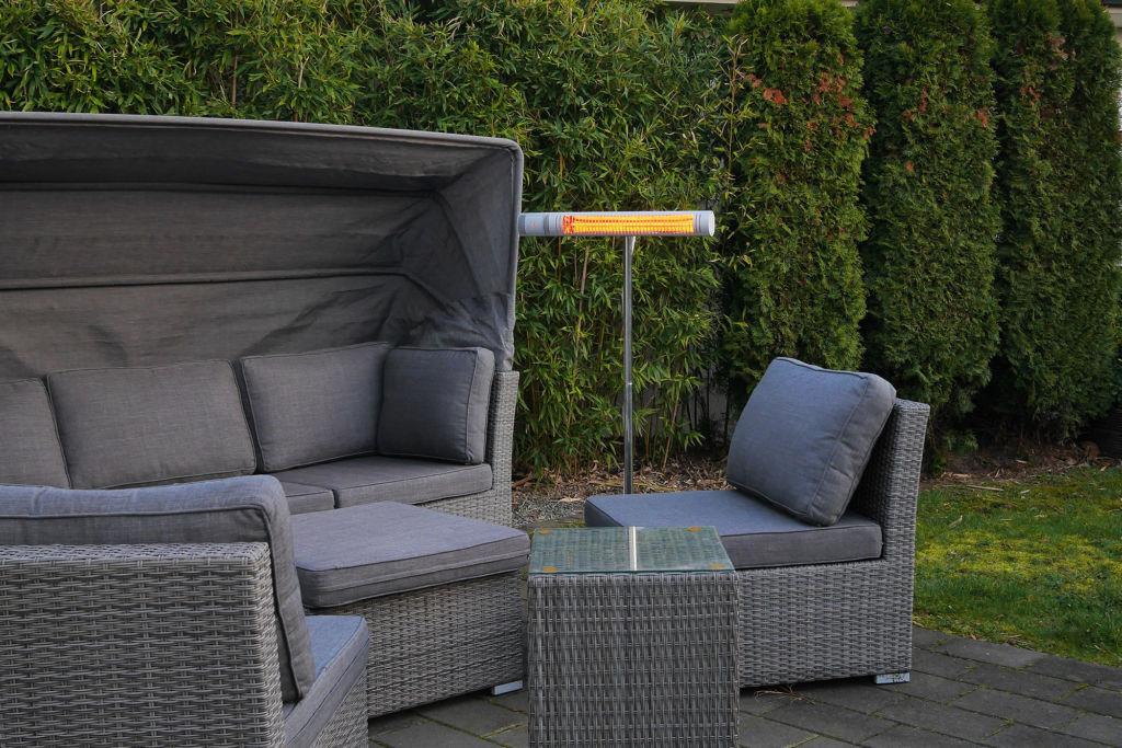 Elektro Heizstrahler Outdoor mit IP65