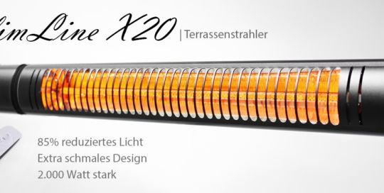 Elektro Heizstrahler VASNER SlimLine X20