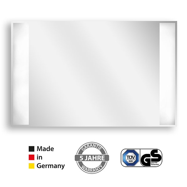 Elektroheizung Bad Infrarot Spiegel LED Licht