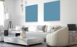 Farbige Infrarotheizung Pastellblau RAL 5024