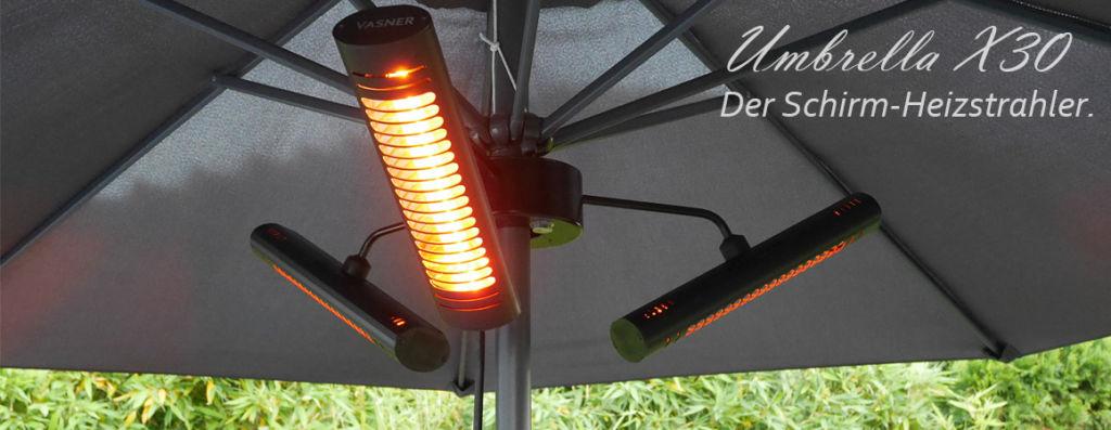 Heizstrahler Sonnenschirm VASNER Umbrella X30