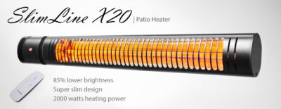 Electric Infrared Heater VASNER SlimLine X20
