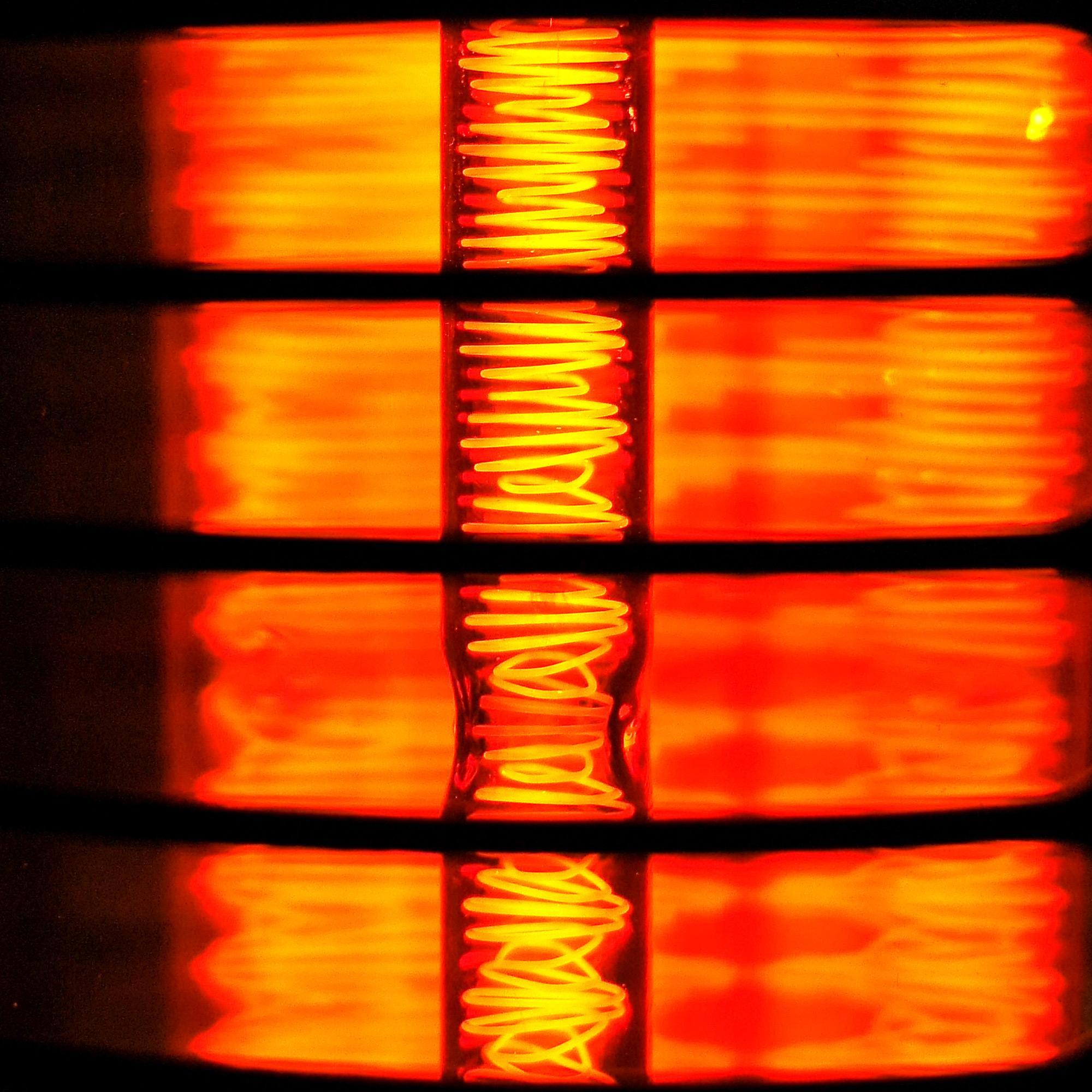 Mobiler Infrarotstrahler mit Ultra Star Low Glare Röhre